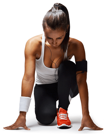 chica carrera entrenador personal pamplona yoga